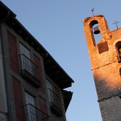 Diputación y Obispado contribuyen a la restauración de la cubierta de la iglesia de San Miguel de Cuéllar
