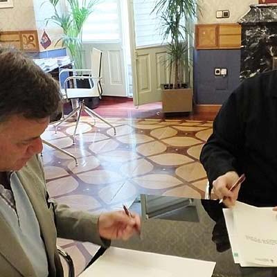 Diputación y Colegio de Farmacéuticos colaborarán para la implantación de la receta electrónica en la provincia
