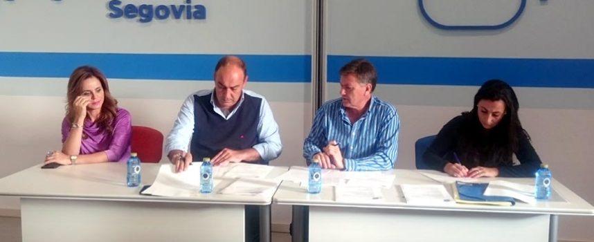 La Junta Directiva del PP de Segovia apoya la candidatura de Cuéllar a las Edades del Hombre de 2017