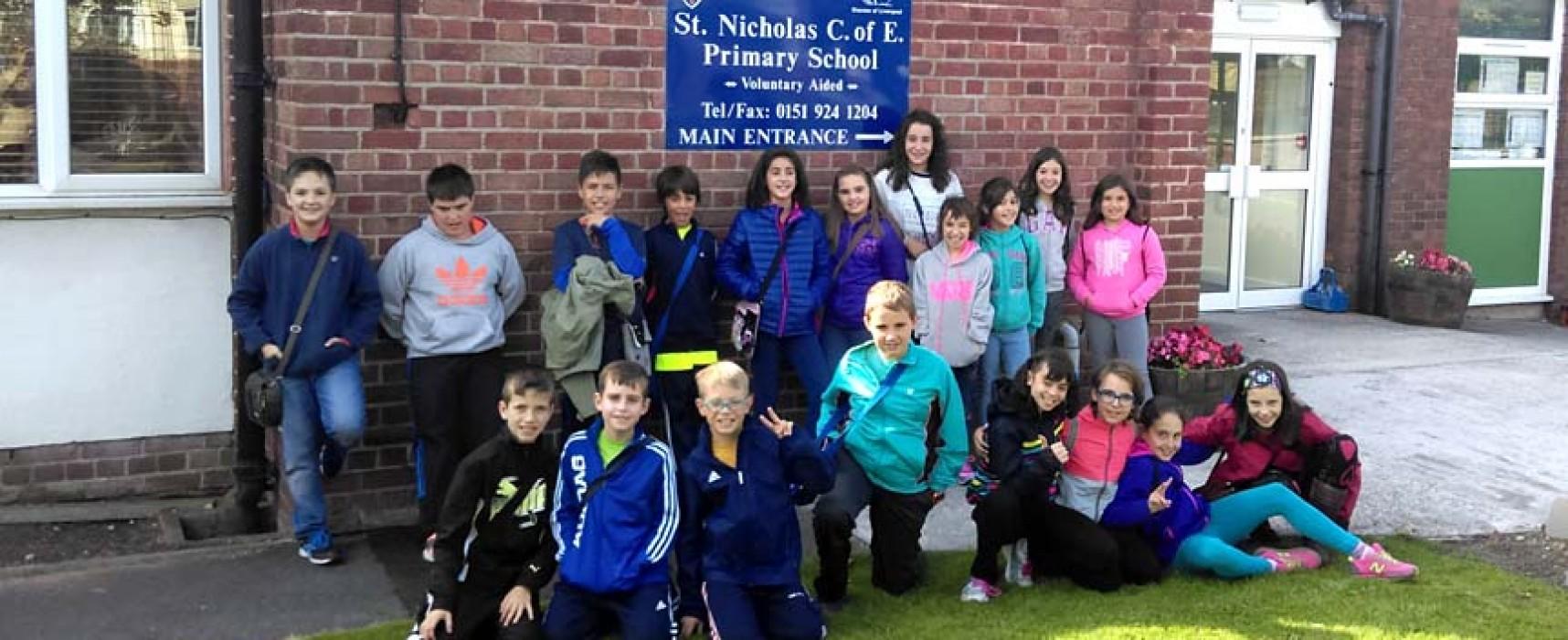 Los alumnos del CRA Las Cañadas visitan Liverpool
