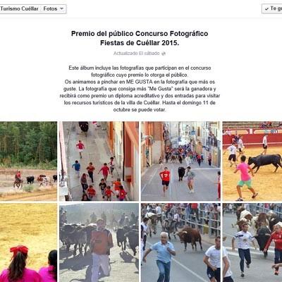 Turismo Cuéllar abre en su perfil de Facebook las votaciones del premio del público del Concurso Fotográfico de las fiestas