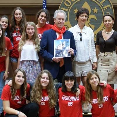 Alumnos del IES Marqués de Lozoya viajaron a Louisville (Kentucky)