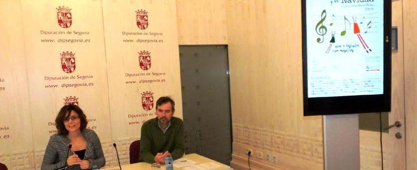 """Coros y corales de la comarca participan en el ciclo de """"Cantos para el Adviento y la Navidad"""" de la Diputación"""