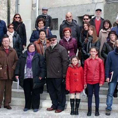 Los Amigos de la Fundación del Archivo Ducal visitaron la Judería