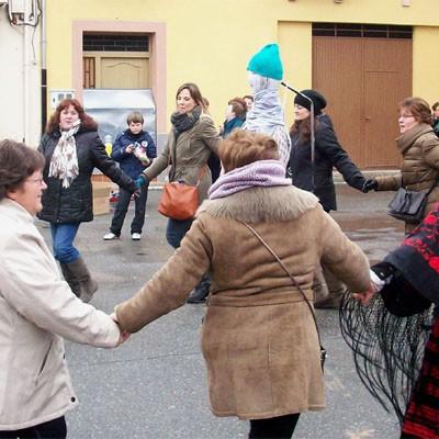 Fuenterrebollo celebra el sábado Santa Águeda y Carnaval