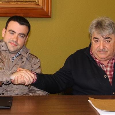 Carlos Fraile y Julián Alonso acercaron posturas en un tenso encuentro