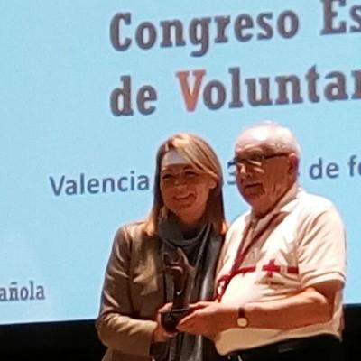 El cuellarano Pedro de Benito, galardonado con un Premio Nacional V de Voluntariado