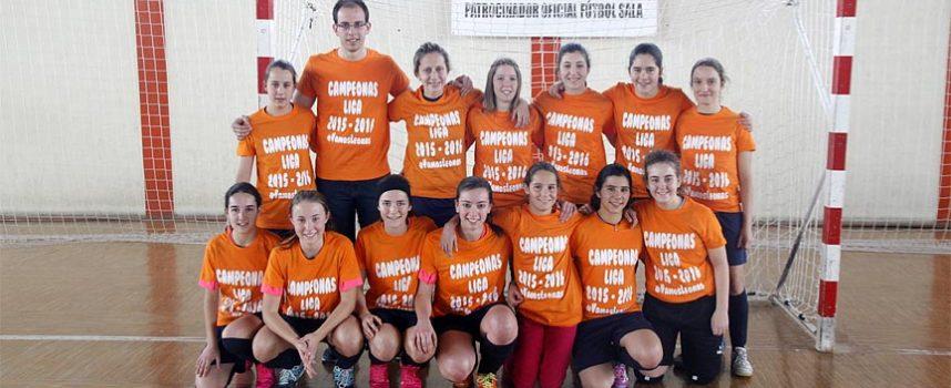 El FS Autoescuela EP&EH celebra su conquista de la Liga Asofusa con una derrota ante el segundo