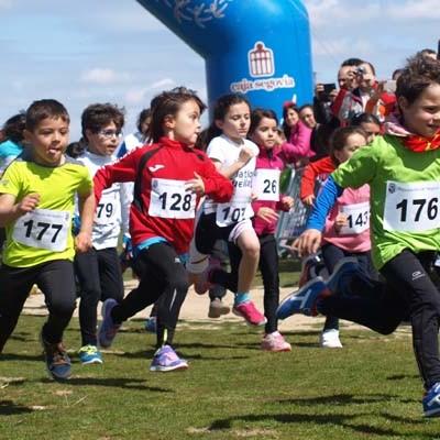Buena clasificación de los escolares cuellaranos en la final provincial de Duatlón celebrada en Valverde del Majano