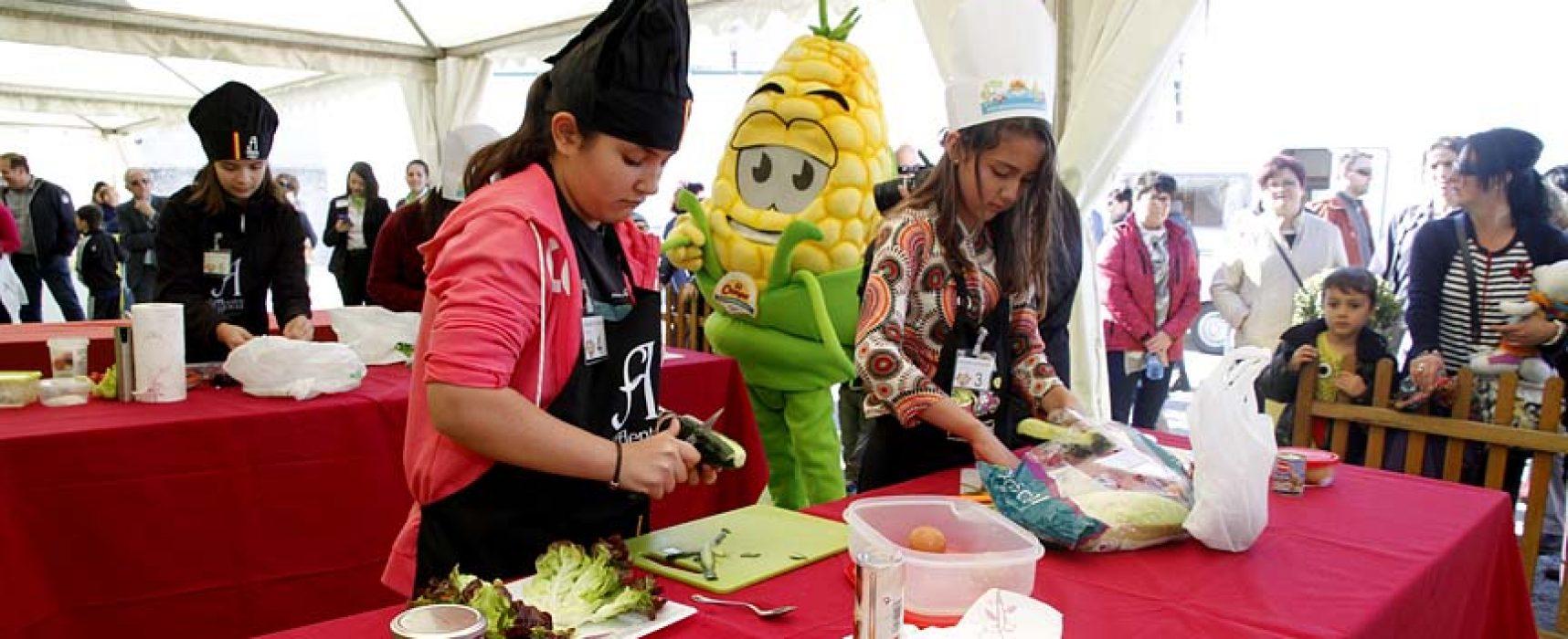 `Cuéllar Chef Junior´ llega en busca de la mejor ensalada