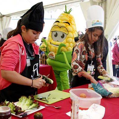 `Cuéllar Chef Junior´ regresa en busca de la ensalada más nutritiva