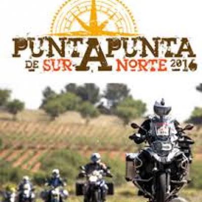 La travesía en moto `Depuntapunta´ visitará mañana la villa camino de San Sebastián