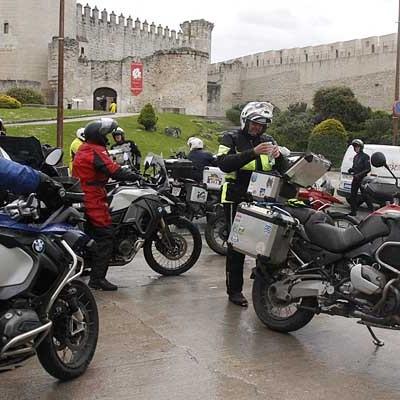 De Santa Cristina a San Sebastián en moto, pasando por Cuéllar