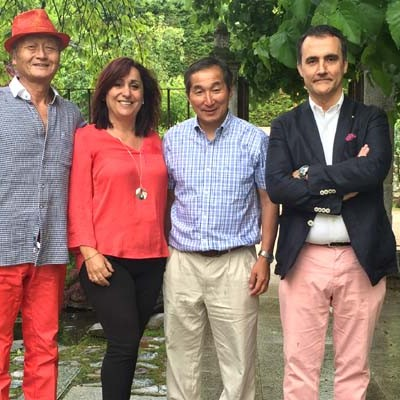 """El artista japonés Kazunobu Yanagi realizará una de sus creaciones de """"pintura en vivo"""" en Cuéllar"""