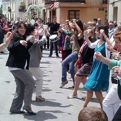 La comarca festeja a San Antonio