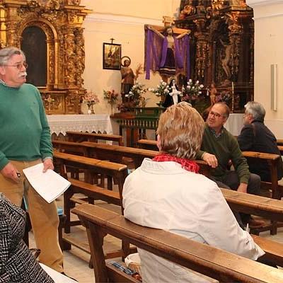 Manuel Álvarez refleja en una publicación el origen de la devoción al Cristo de San Mamés de Campo de Cuéllar
