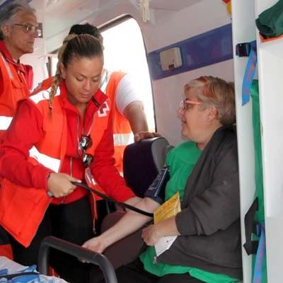 Cruz Roja difundió en la villa sus proyectos y áreas de actuación