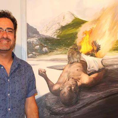 Pedro Cebrián expone sus `Territorios´ en Las Tenerías