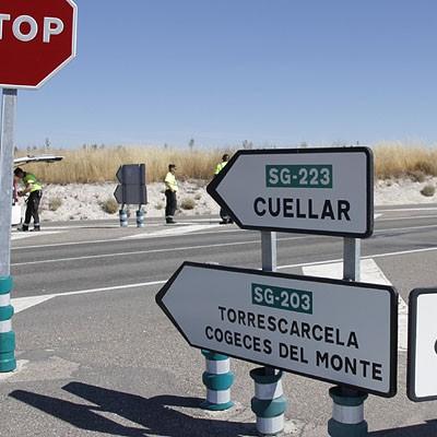 Ciudadanos pedirá actuaciones en el cruce de la carretera de Peñafiel
