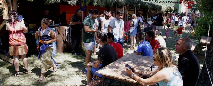 Cetrería, música, títeres y fuego, se darán cita en el Mercado Medieval de Sanchonuño