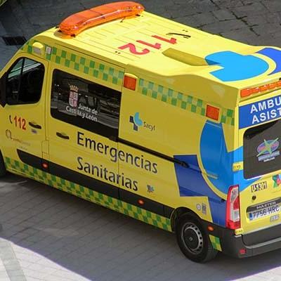 Un fallecido y tres heridos en un accidente en la carretera que une Coca con Chañe