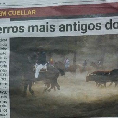 Luis Capucha elogia las fiestas de la villa en un semanal taurino portugués