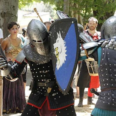 Aires medievales en la Huerta del Duque