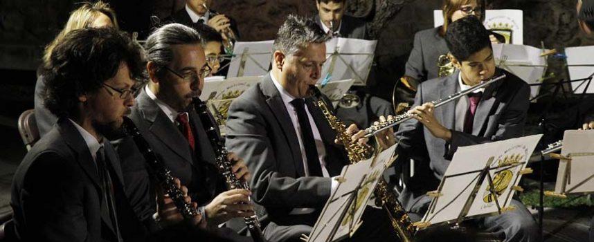 La Banda Municipal de Música protagoniza el concierto de `Una noche de verano´