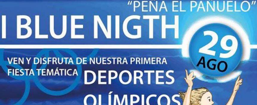 El Pañuelo celebra hoy su I Blue Night