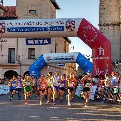 Ricardo Serrano y  Gema Martín se proclamaron vencedores del Circuito Media Docena de Leguas 2016 en Cantalejo