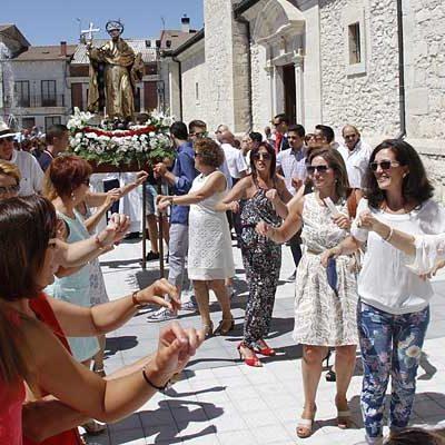 Campaspero abre el sábado sus fiestas en honor a Santo Domingo de Guzmán