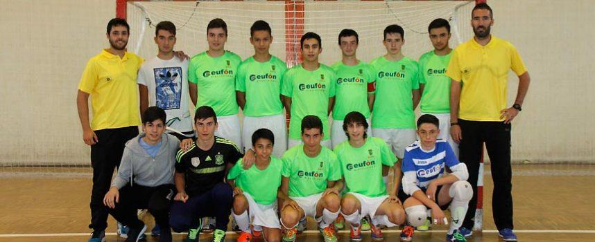 El FS Cuéllar Juvenil se enfrenta al Benavente en la penúltima jornada de liga