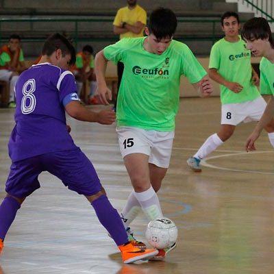El FS Eufón Cuéllar venció con contundencia al Medinense