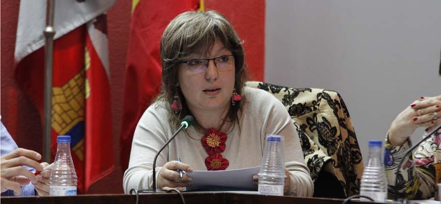 La Concejala de Cultura, Sonia Martín.