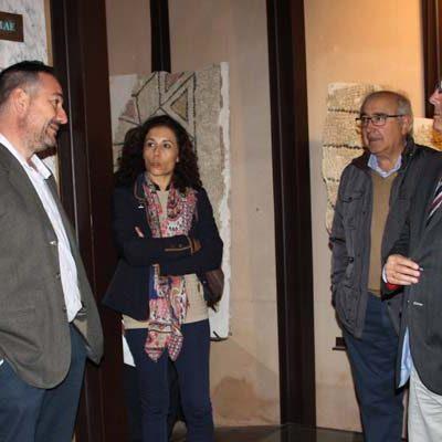 El delegado territorial visitó el Aula Arqueológica de Aguilafuente en su decimoquinto aniversario