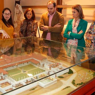 El Aula Arqueológica de Aguilafuente se viste de gala en su 15 aniversario