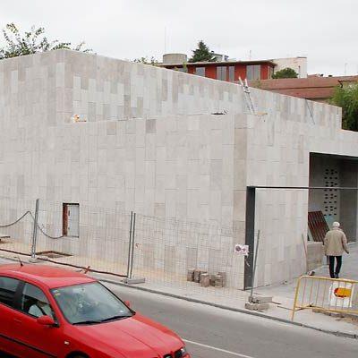 Las obras del gimnasio del colegio La Villa están a punto de concluir