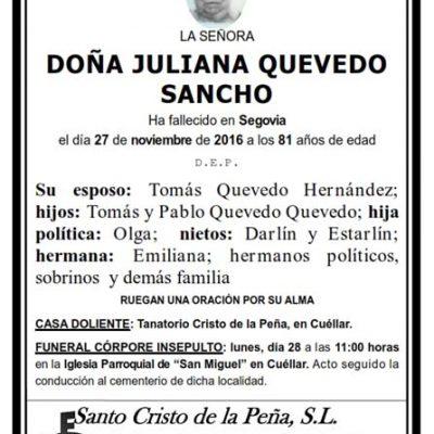 Juliana Quevedo Sancho