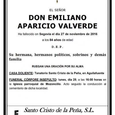 Emiliano Aparicio Valverde
