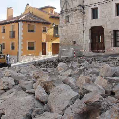 Patrimonio autoriza el control arqueológico en la primera fase de las obras de la calle Palacio
