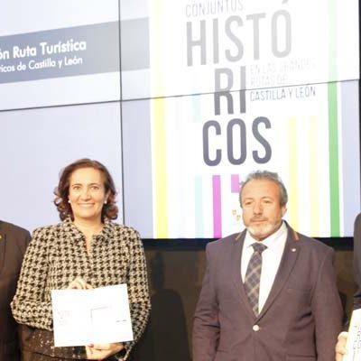Cuéllar, Coca y Fuentidueña en la ruta de los 122 municipios declarados Conjuntos Históricos de Castilla y León