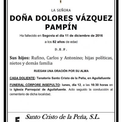 Dolores Vázquez Pampín