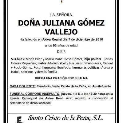 Juliana Gómez Vallejo