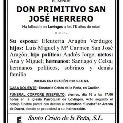 Primitivo San José Herrero