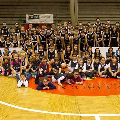 Baloncesto Cuéllar celebró la fiesta del club