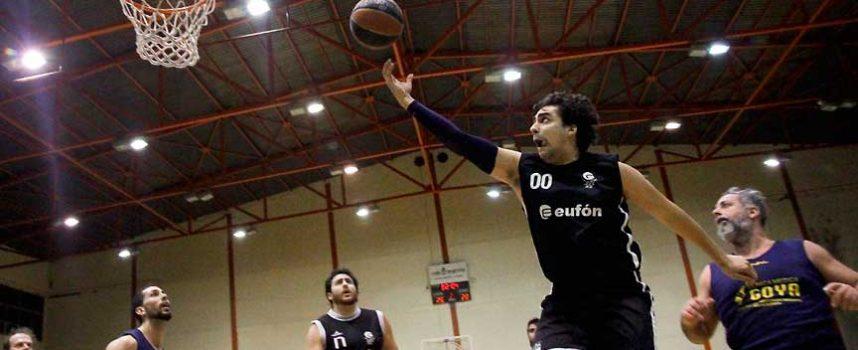 El polideportivo acoge la Copa Delegación de baloncesto este fin de semana