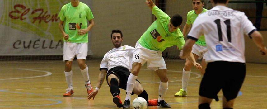 El FS Naturpellet Cuéllar comenzó la liga con una derrota en la cancha del Guardo