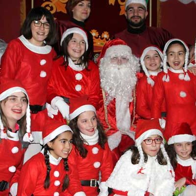 Pasacalles Navideño con Zereia y Batucanta coincidiendo con la visita de Papa Noel