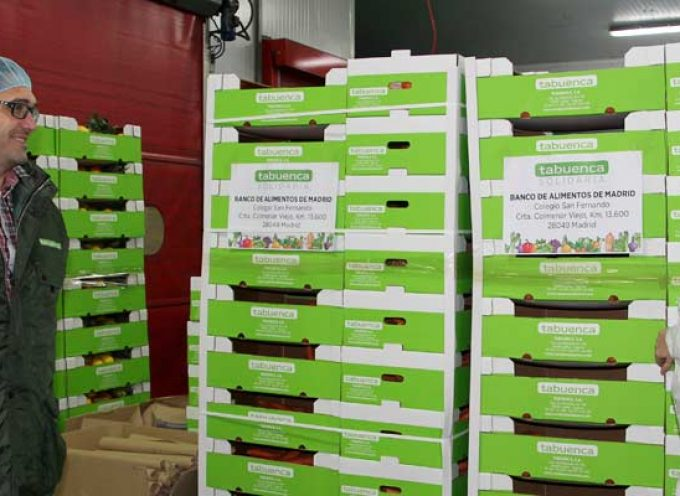 Tabuenca inicia su campaña solidaria con la Federación Española de Alimentos