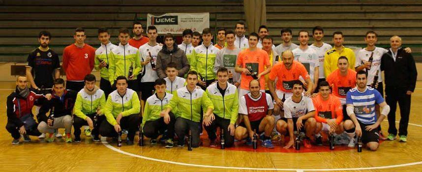 El Racing Cuéllar recaudó 270 euros en su Torneo de Navidad